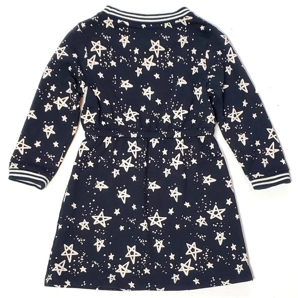 Gymboree 2T Stars & Stripe Cuff Long-sleeved Dress